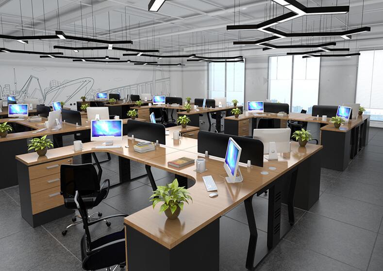 回收办公类家具,员工工位、会议桌等